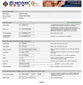 1pondo registration page 2