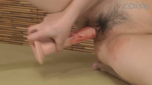 Unwash pussy and during menstruation masturbation are unlimited with uncensored JAV porn videos in Nyoshin