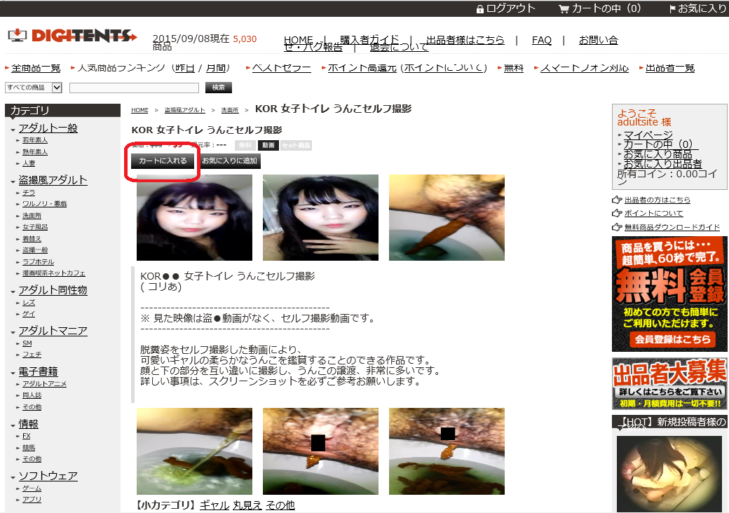 How to buy the voyeur videos in Soft-Ichiba 2