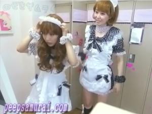 Voyeur videos, Long-time maid cafe in Akihabara, Sex video in Korea, public bath peeping