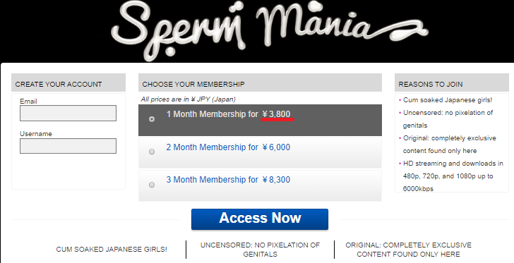 How to join Sperm mania at a reduced price 1