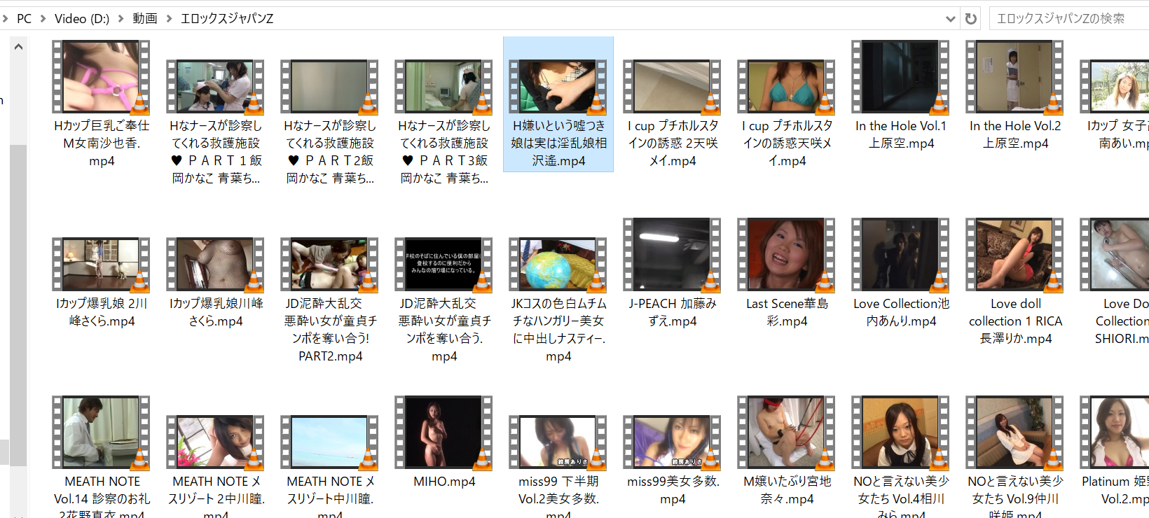 some of the uncensored JAV erotic videos that I downloaded and got from EROX JAPAN Z