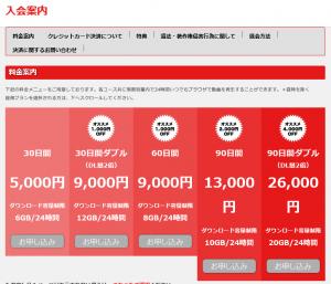 Tokyo-Hotの入会ページのスクリーンショット画像1