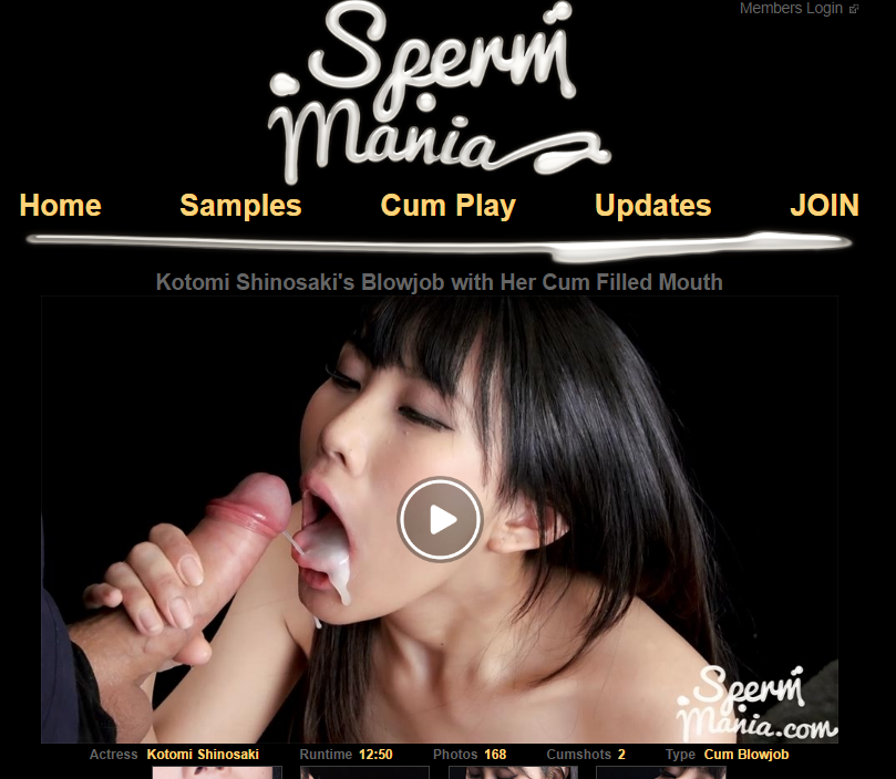 Sperm mania free porn video