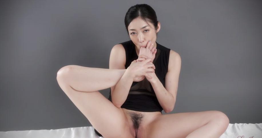 江波りゅうの無修正足コキ動画 Legs Japan