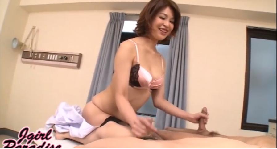 西野エリカ 二穴3P Jガールパラダイスの無修正アナルSEX動画