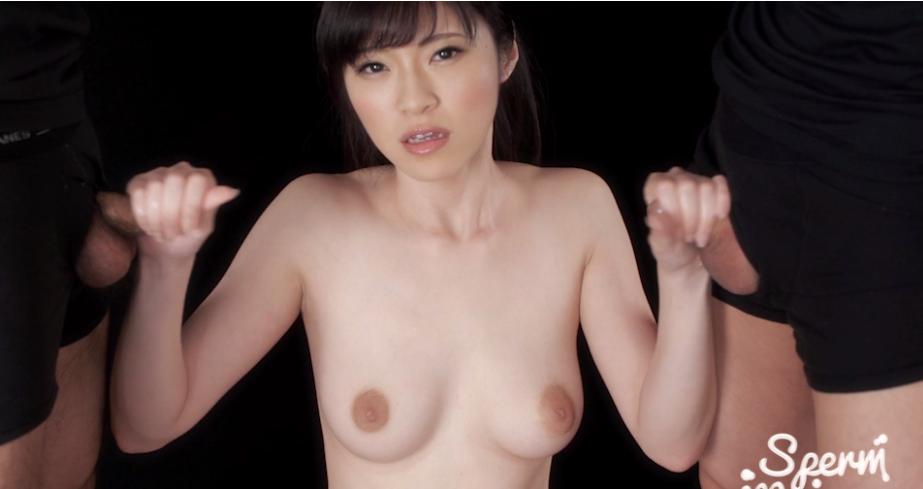 美咲あかりの手コキ Sperm maniaの無修正動画