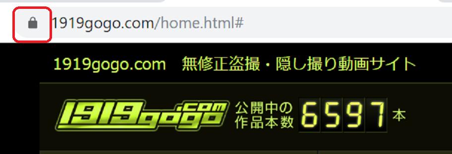 1919gogoは暗号化されていて安全なサイトです