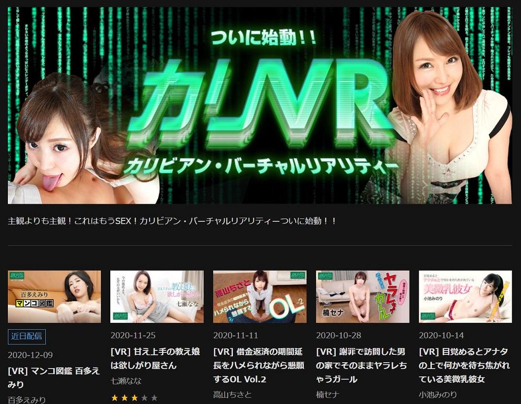 カリVRのページ